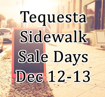 Sidewalk Sale Days Dec 12 and 13
