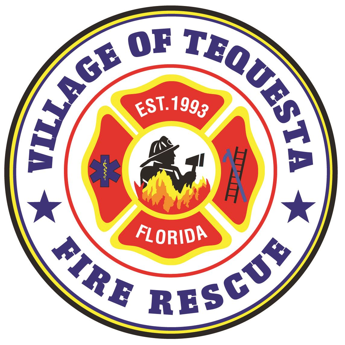VOT Fire Rescue logo