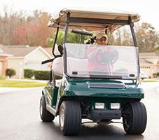 Golf Cart on Street_NEWSFEED