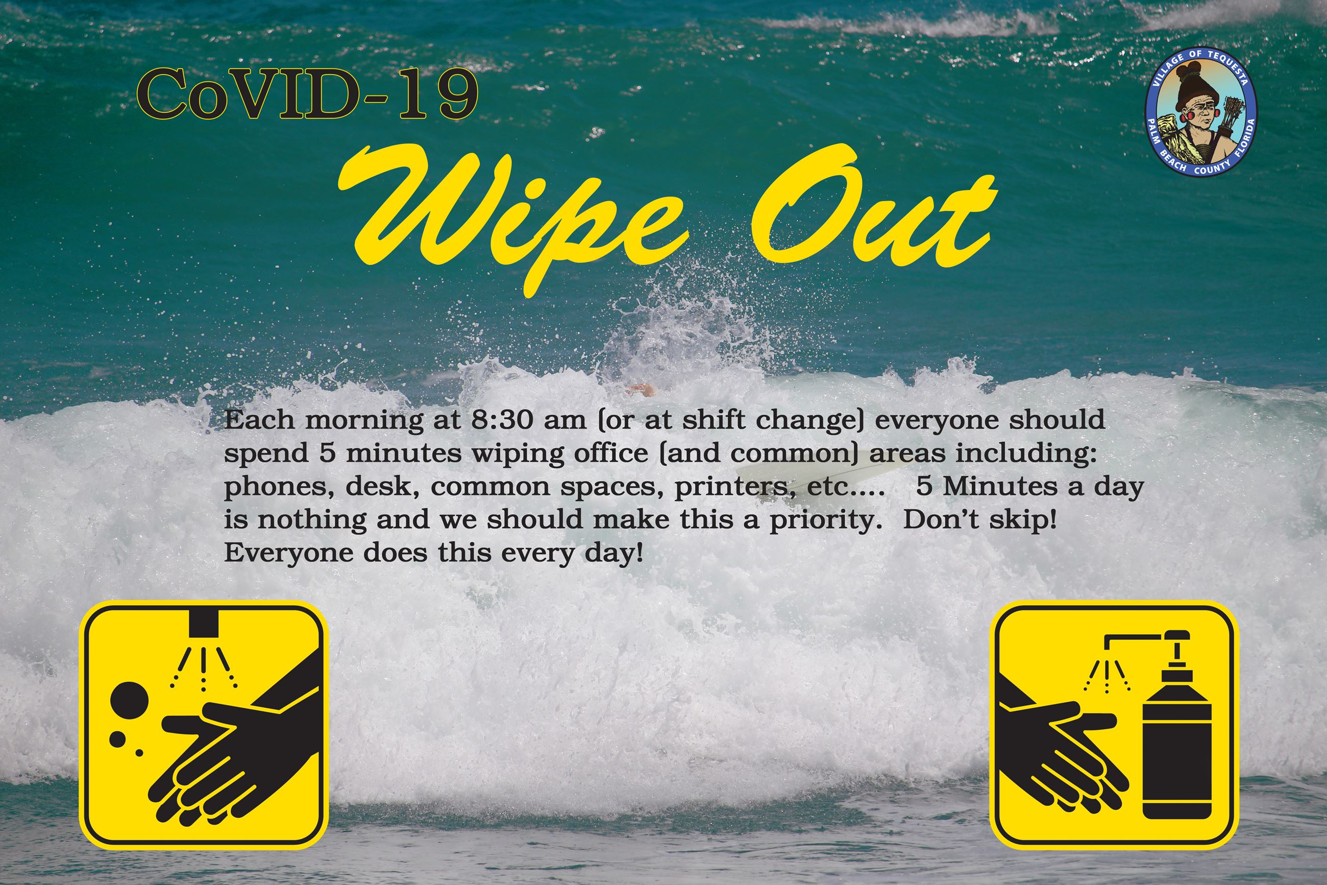 CoVid-19 Wipe Out