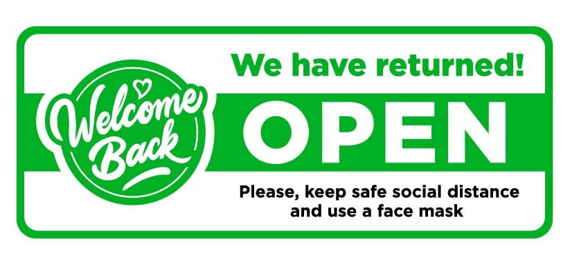 We have returned - OPEN