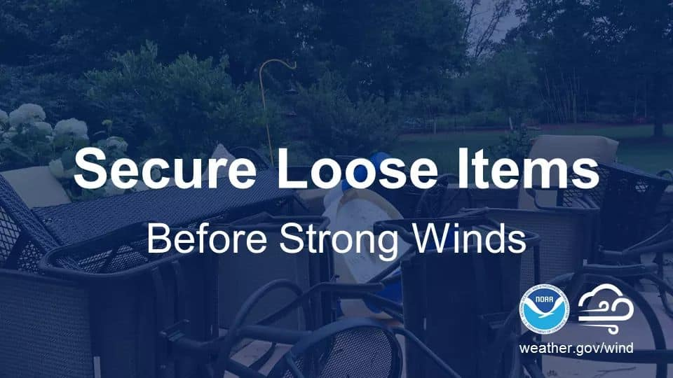Secure loose items